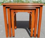 SOLD - Nest of Three Yew Coffee Tables